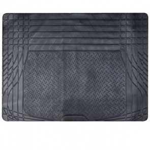 Universal Boot Mat Liner For Car Boot Trunk Rubber Heavy Duty Trim Cut To Fit