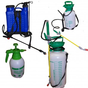 Weed Killer 2L 5L 8L 18L Litre Alloy Wheel Cleaner Pressure Sprayer Knap Sack
