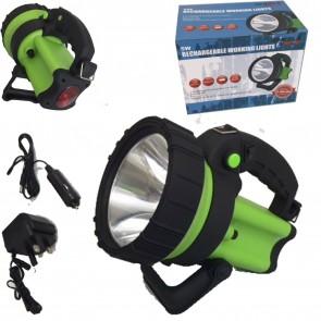 Wheels N Bits Hunting Farmer 5 Million 5 Watt Cree 600M Beam Rechargeable Torch Spot Lamp Hand