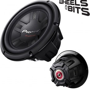 "PIONEER TS-W261S4 10"" Inch 25Cm 1200 Watts Max Sub Subwoofer 350 Rms 4Ohms"