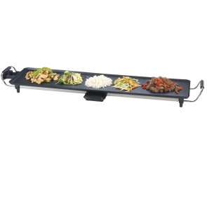 Teppan yaki Electric Kitchen Grill Pan Tray Griddle Barbecue BBQ Garden X Large