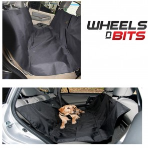 WNB Waterproof Hammock Rear Back Seat Protection Cover for Pets & Dogs - Black