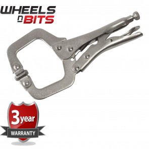 Wheels N Bits New Heavy Duty 11 Inch Locking Mole Grip C Clamps Work Welding Clamp Tools