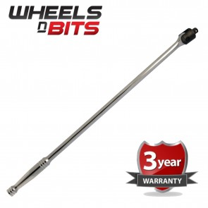 "24''x 1 2'' Flexi Bar Polished Bar 24"" 1 2"" Breaker Drive Extension Breaking bar"