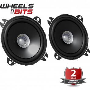 "New JVC CS J510X 13CM 5.25"" 250 Watts 44mm depth Dual Cone Car Speakers Door"