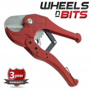 Wheels N Bits Quality Pvc Pipe Cutter 1mm - 42mm Plumbing Rigid Piping Plastic Diy Tool