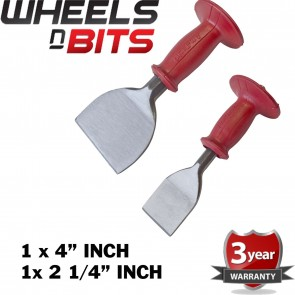 "Wheels N Bits Professional 2.1/4"" & 4"" Bolster With Rubber Guard For Cutting Stone Slabs Brick"