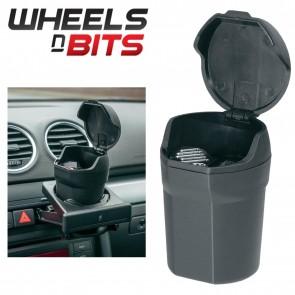 WNB Ashtray Cigarette Butt Bucket Self Extinguishing Bin Car Magnetic Base & Lid