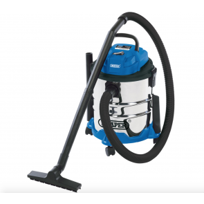 NEW 1250watt Wet and Dry Vacuum Vac Hoover Cleaner Industrial 20L Stainles Steel
