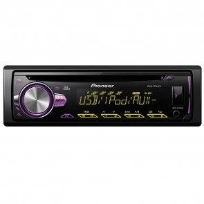 NEW Pioneer DEH-S2000Ui CD MP3 USB iPod iPhone Android Stereo Tuner Multicolour