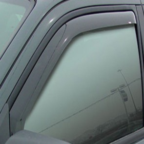 WNB Tinted WIND DEFLECTORS 2pcs to fit Dacia Sandero / Logan / Stepway EU Made