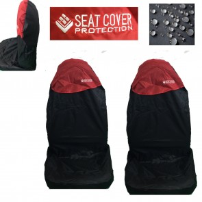 Wheels N Bits 2 Red Top Car Waterpoofs Nylon Seat Cover Fits BMW 1,2,3,4,5 Series X1 X2 X3 Z3