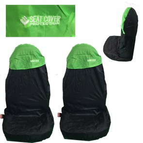 Wheels N Bits 2 Green Nylon Car Seat Cover Waterproofed Vauxhall Opel Insignia Frontera Meriva