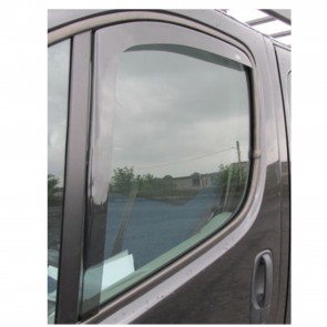 WNB Tinted WIND DEFLECTORS 2pcs fits Nissan Primistar 2Dr 2001-   EU Made