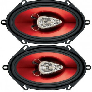 "Boss Audio CH5730 5x7"" 300 Watt 3 Way Car door speaker 1 Pair Ford Mazda Jaguar"
