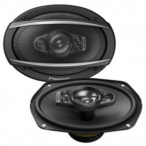 "Pioneer TS-A6990F 5 Way Deep 6""x9"" Inch Car Van Speakers Rear Shelf 700W Each"