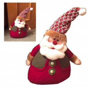Santa Claus Father Christmas Decoration Dog Stop Stopper 1.1KG Weight