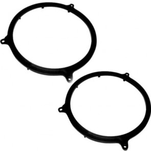Autoleads SAK-1102 Audi A3 165mm Rear Door Speaker Adaptor Kit Rings Fitting Brackets Pair