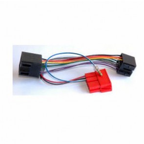 PC9-409 Audi  Cabriolet 1994 - 2003 ISO Amplified Bypass Wiring harness adaptor