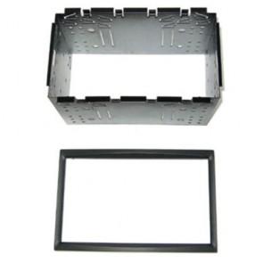 Wheels N Bits DFPK-04-05 Citroen C2 C3 2003> on Double Din Fasia Panel Trim Kit Adaptor Cage