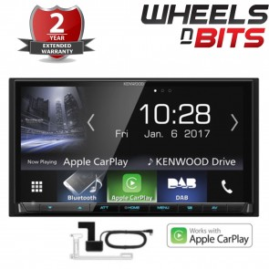 "NEW KENWOOD DMX-7017DABS 7"" BLUETOOTH USB AUX ANDROID AUTO VAN CAR PLAY STEREO"