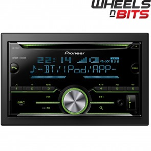 Pioneer FH-X730BT Double Din Car Stereo Bluetooth USB iPod iPhone Android