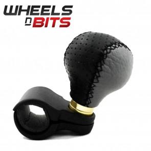 Wheels N Bits Universal Steering Wheel Knob Leather Suits Truck Car Van Bus
