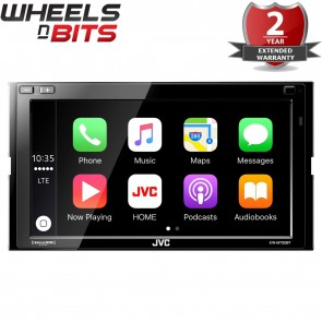 "JVC KW-M730BT 6.8"" Android Auto/Apple CarPlay Bluetooth GPS Screen Stereo"