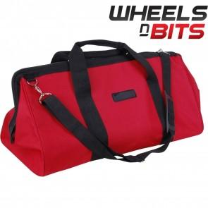 Red 24 Inch Reinforced Heavy Duty Multi Purpose Diy Tool Box Storage Bag 60cm