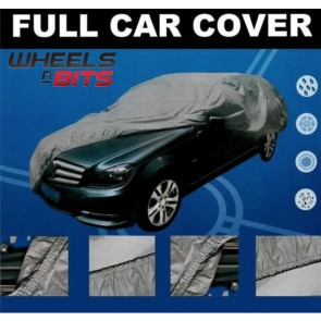 Ford Fiat Universal Full Car Cover UV Sun Waterproofed Outdoor Breathable PEVA