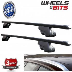 Wheels N Bits Black Steel Roof Rack for Integrated Bars Audi A6 Avant Estate 5dr 05-16 100KG