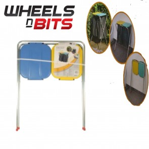 Wheels N Bits New Garbage 2 Bin Liner Waste Food & Recycling Holder Frame For Caravan Champer