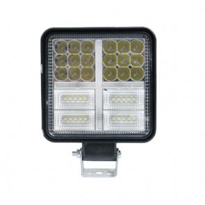 Wheels N Bits Work light Bar Stobe DRL & Continuous Light 12 24 Volt 162 Watt 4 Inch Thin