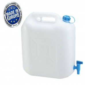 Wheels N Bits 12 Litre Drinking Water Jerry Can With Tap Food Safe Material Camping Caravan