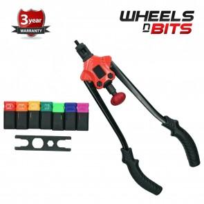 Wheels N Bits Hand Nut Tool M3- M10 Rivet Repair Riveter Rivet Gun Mandrels Professional