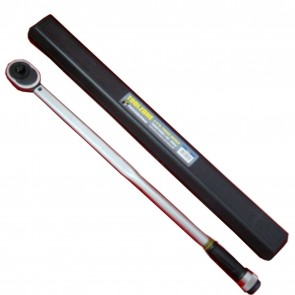 "Wheels N Bits 3/4"" Dr Pro Ratchet Torque Wrench 100 - 500 NM Newton Meters Foot pound certified"