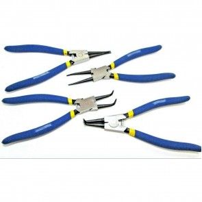 "Wheels N Bits 4pc Large Circlip Pliers Set 9"" inch Internal External Snap Ring Ben Grip"