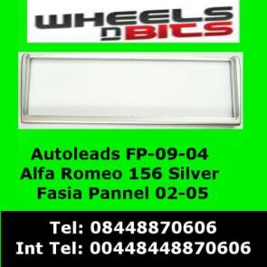 Wheels N Bits FP-09-04 Alfa Romeo 156 02-05 Silver Fascia Facia Adaptor Panel Surround Trim