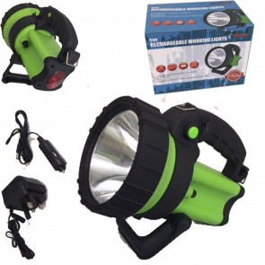 NEW Bright Cree Led Rechargeable Torch Spot lamp Lantern 5 Watt led 4 Hour Use
