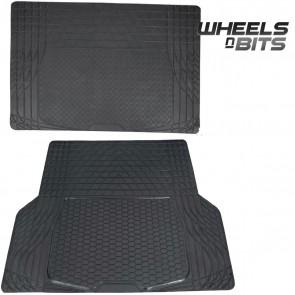 Hyundai Elantra Santa FE Rubber Car Boot Liner Mat Universal Protector L or XL