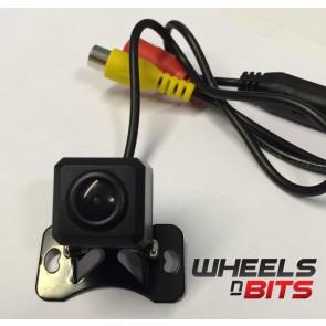 Wheels N Bits Wnb-Cm23 Universal Rca Rear View Camera Small Compact 12Volts Swivel Mount