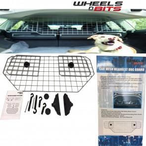 Wheels N Bits Universal Adjustable Safety Mesh Headrest Dog Guard Hatchback MPV Jeep Estate