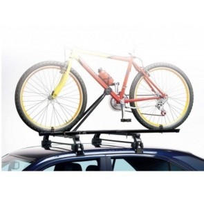 2x EU Made Universal Car Roof Bicycle Bike Carrier Upright Mounted Cycle Rack
