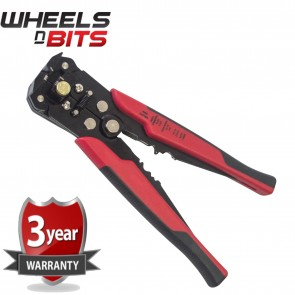 New WNB Quality Automatic Wire Stripper With Crimper Steel Jaws Spring Loaded