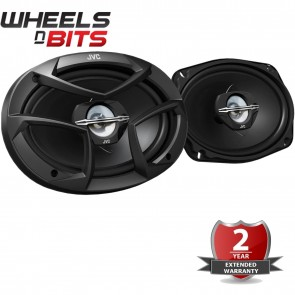 "NEW JVC CS-J6930 6""x9"" Inch Rear Shelf 3 Way 6x9 800 Watts a Pair Car Speakers"