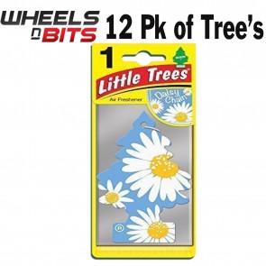 12x Magic Tree Little Tree Daisy Chain Scent Fragrance Car Van Air Freshener