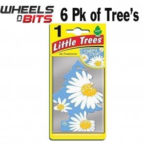 6x Magic Tree Little Tree Daisy Chain Scent Fragrance Car Van Air Freshener