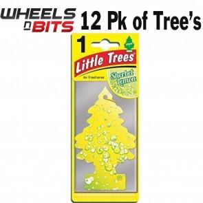 12x Sherbet Lemon Scent Magic Tree Little Trees Car Home Air Freshener Freshen