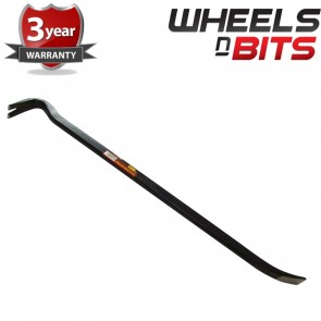 "Wheels N Bits 30"" Heavy Duty Wrecking Bar Pry Crow Nail Pull Lever Puller Wedge Goose Neck New"