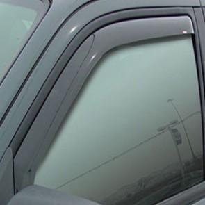 WNB Tinted WIND DEFLECTORS 2pcs to fit Toyota Hilux 4Door 2005> EU Made